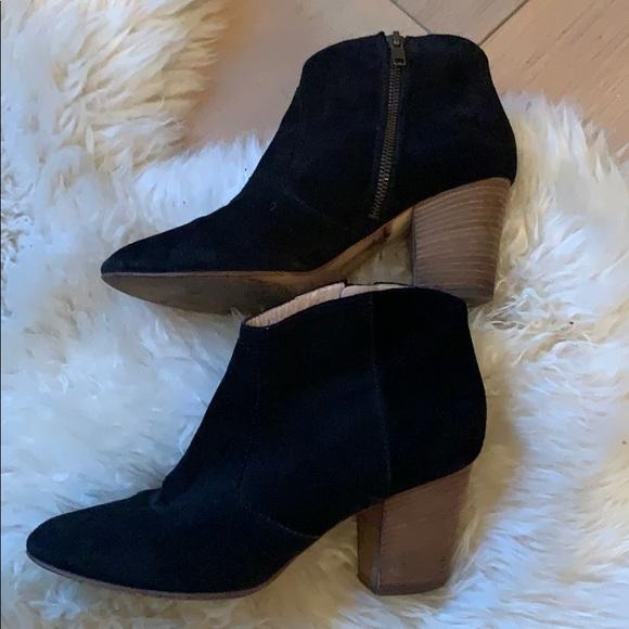 Club Monaco Shoes - Black suede booties
